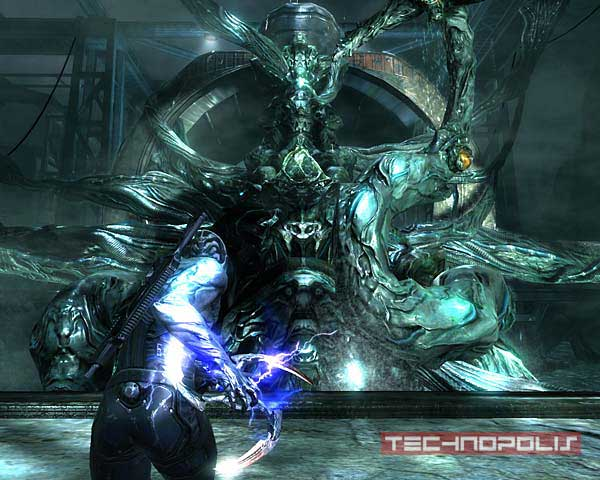 Screen z gry Dark Sector