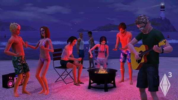 Screen z gry The Sims 3