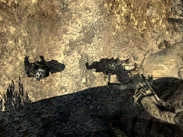 screen z gry Modern Warfare 2