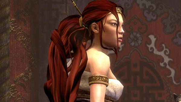 Screen z gry Heavenly Sword