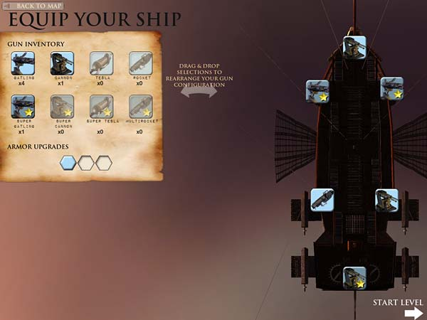 Screen z gry Guns of Icarus