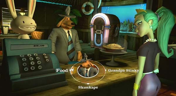 Screen z gry Sam & Max