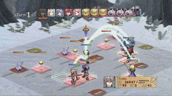 Screen z gry Agarest: Generations of War