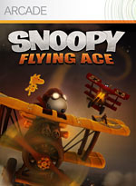 Screen z gry Snoopy Flying Ace