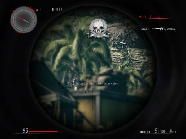 screen z gry sniper: ghost warrior