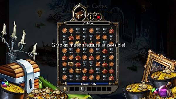 Screen z gry Puzzle Quest 2