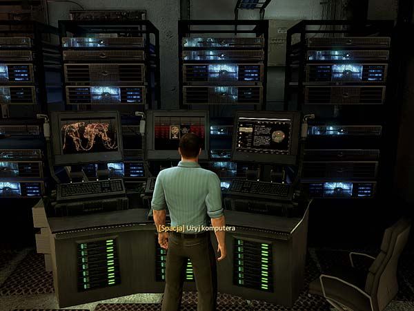 Screen z gry Alpha Protocol