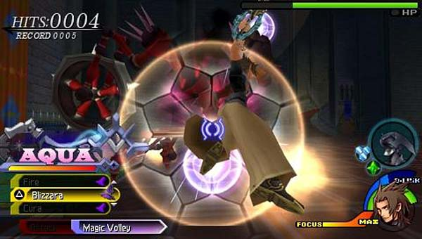 Screen z gry Kingdom Hearts: Birth by Sleep