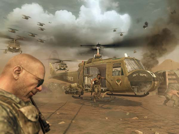screen z gry Call of Duty: Black OPs